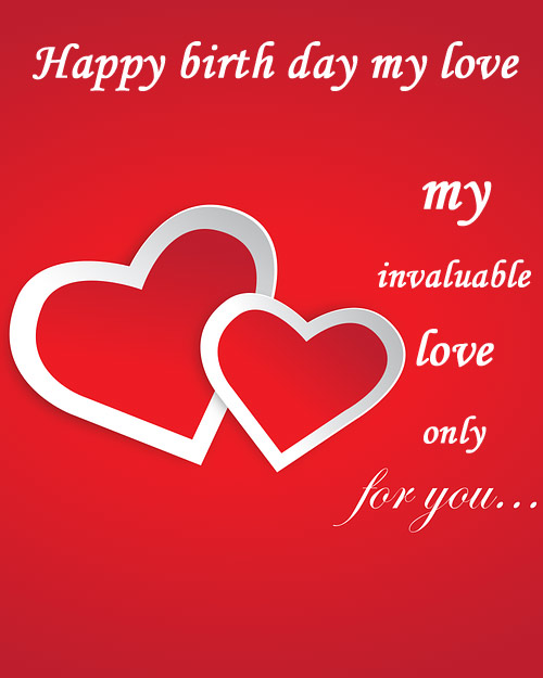 Happy birthday image for your love