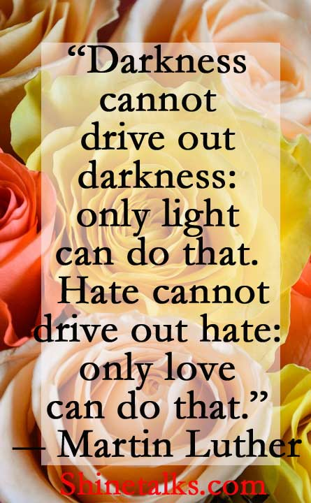 Love quote that bring light in your life