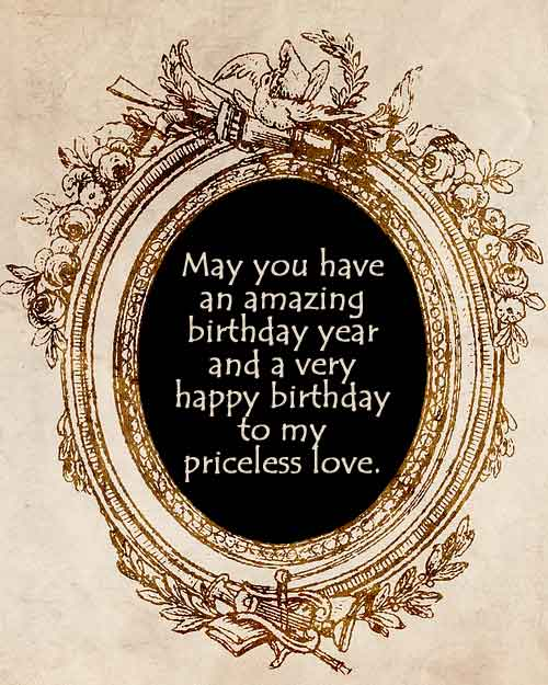 Birthday wishes for priceless person