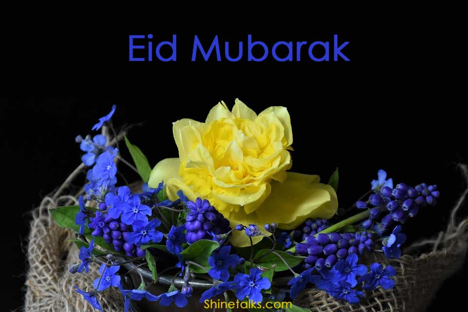 Eid 2020 flower picture