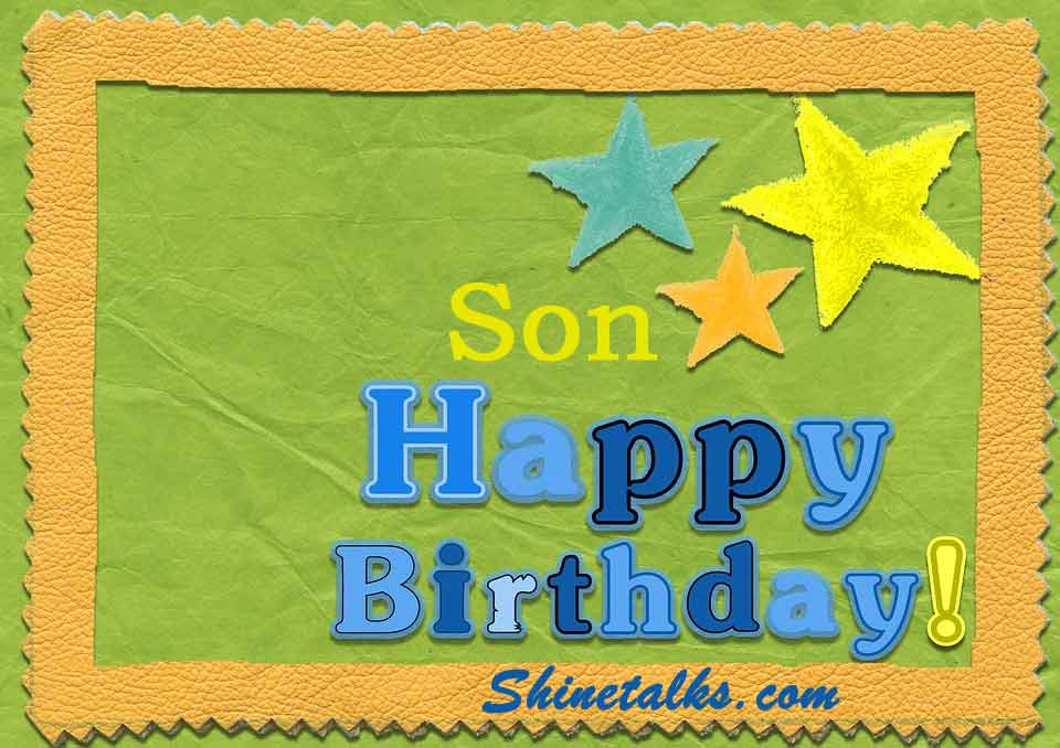 happy birthday wishes for dear son