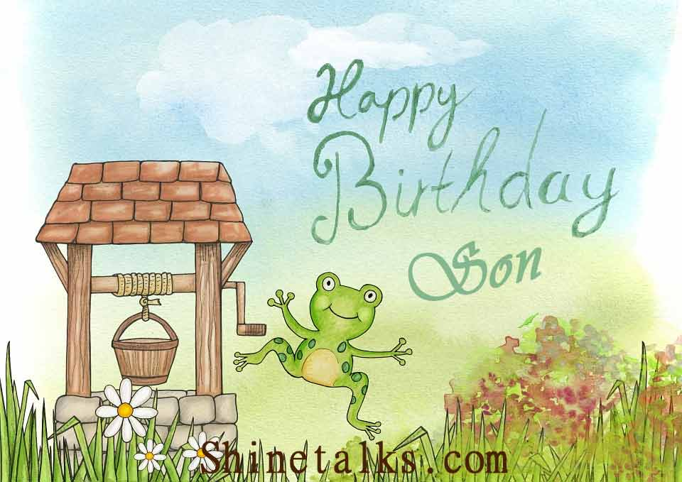 happy birthday cartoon image