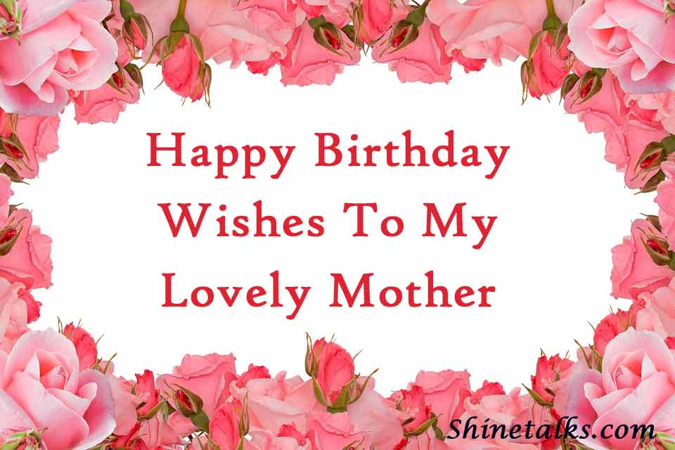 happy birthday wishes images mother