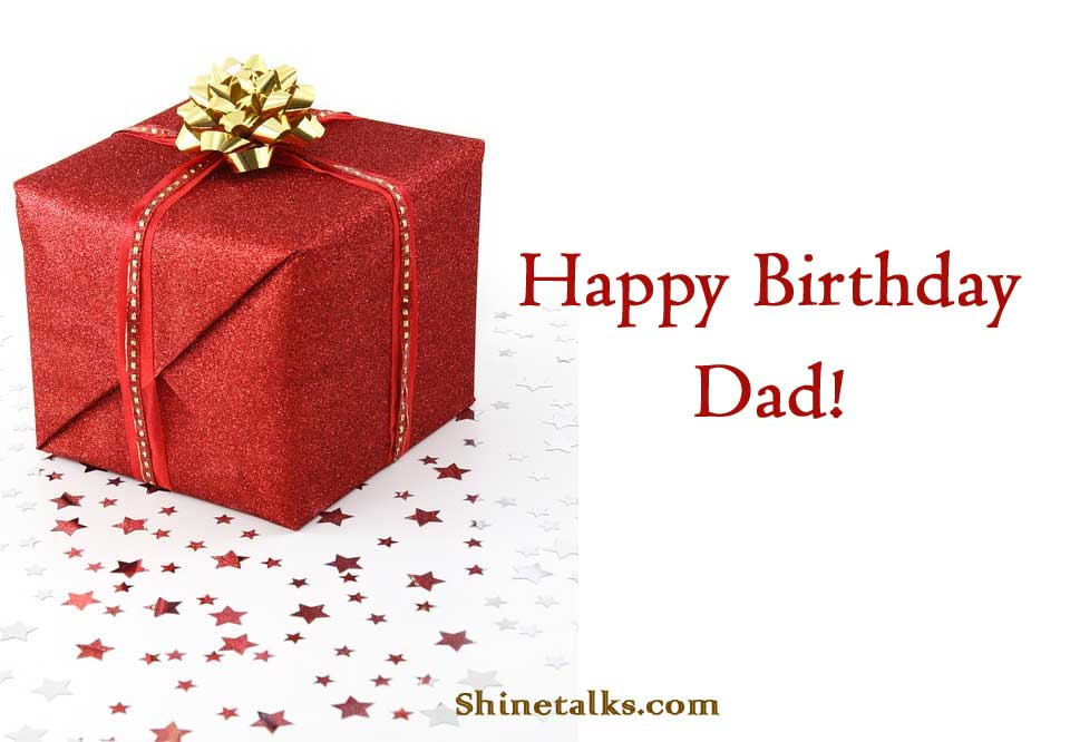 happy birthday gift image for dad