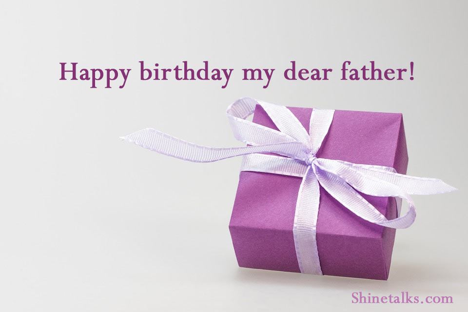 happy birthday greeting for father
