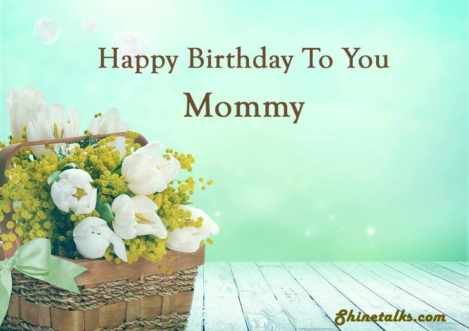 happy birthday wishes image for mom