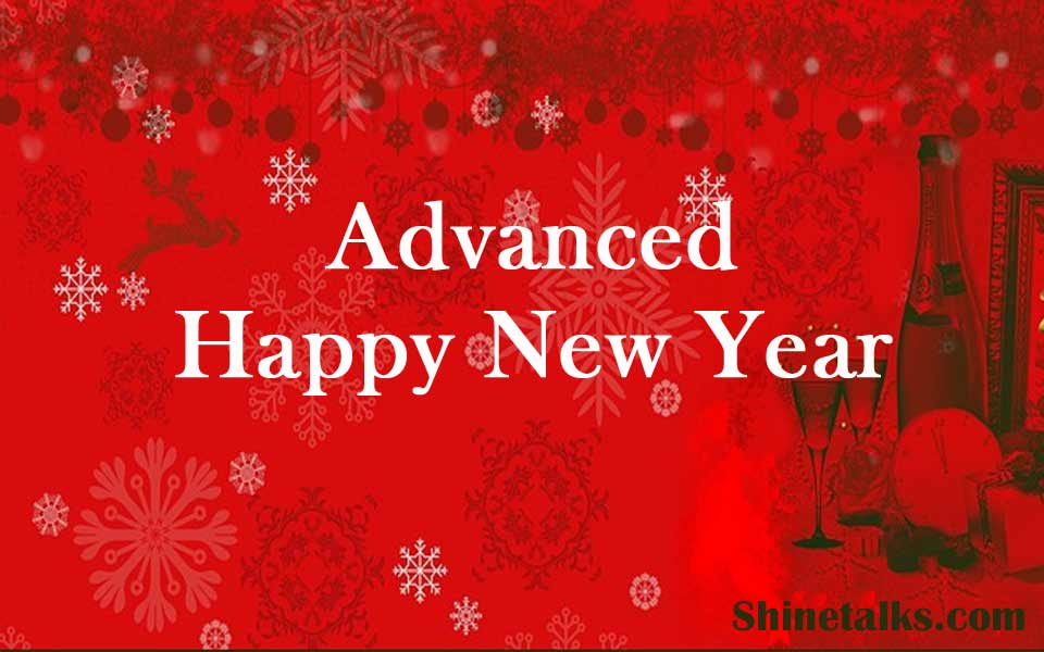 advanced happy new year 2021 greet