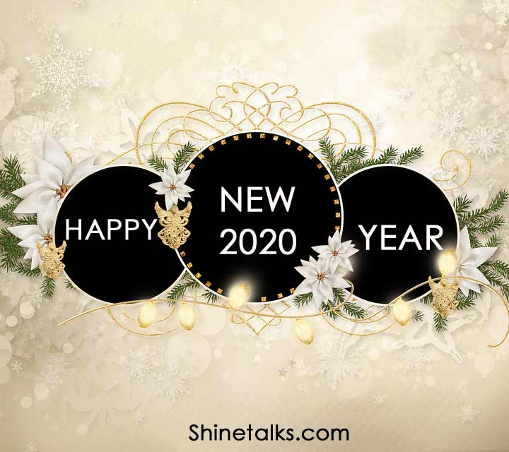 wonderful and optimistic Happy New Year 2020