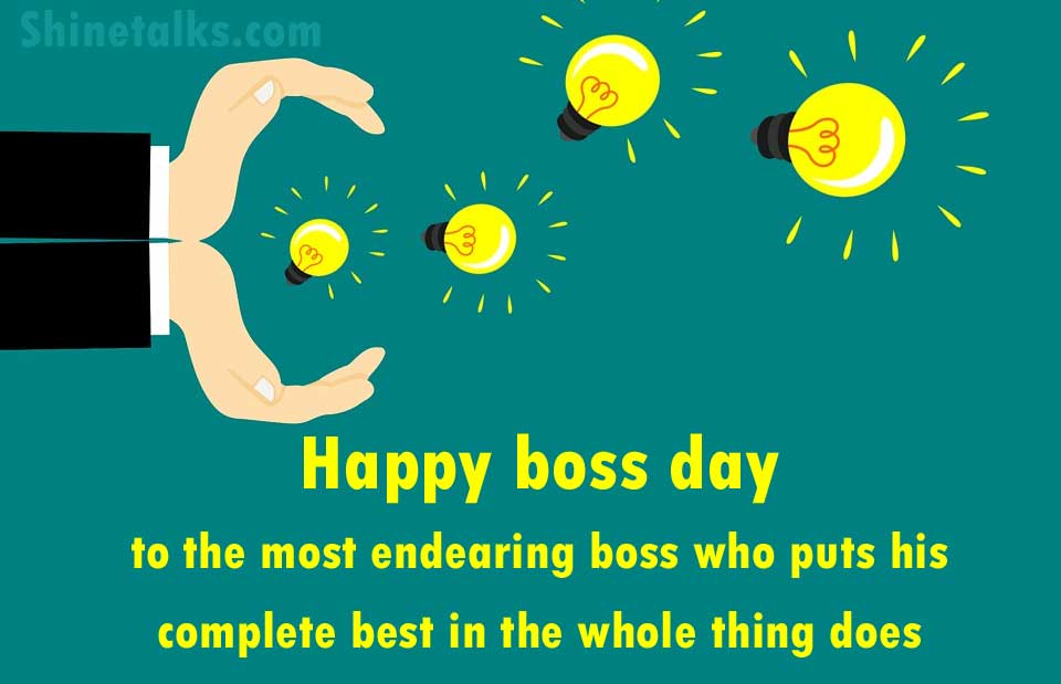 boss day wishes images to your sir