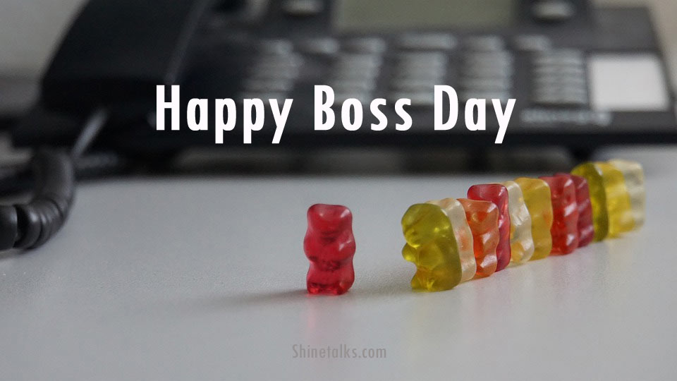 Boss Day Wishes images Messages