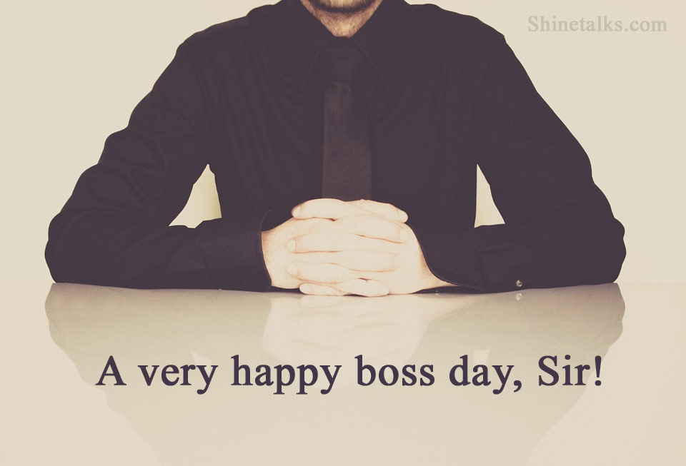 Boss Day Wishes images 2021