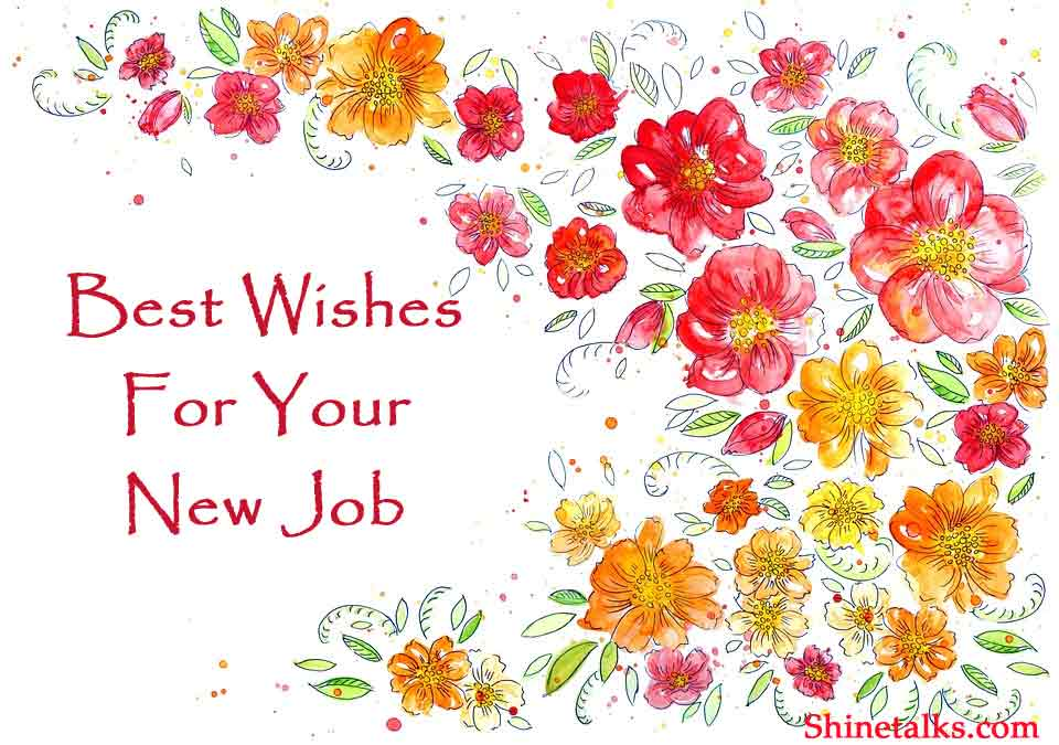 best wishes and messages for New Job