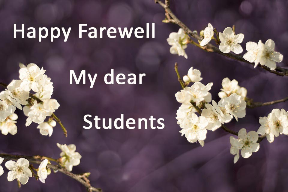 farewell wishes messages