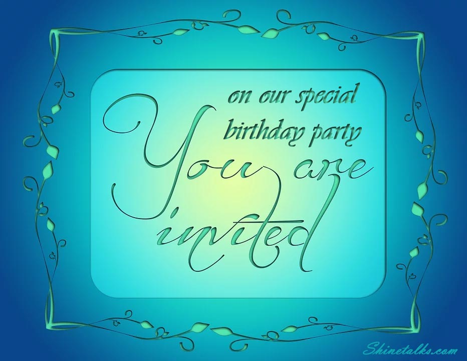 Birthday Invitation messages