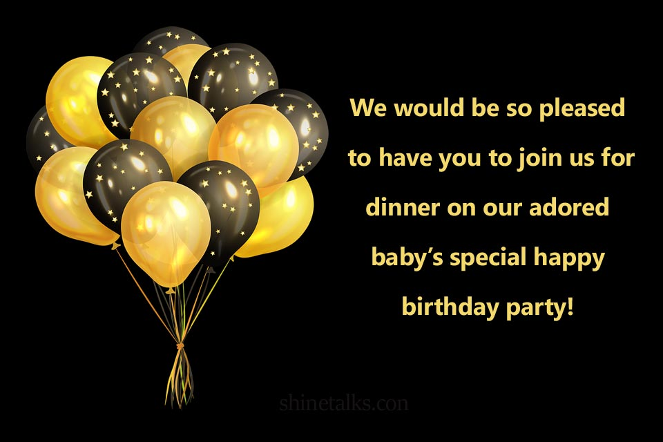 Funny Birthday Invitation