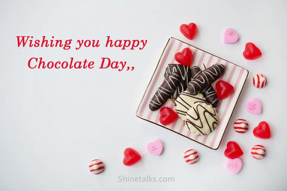 happy Chocolate Day wishes for GF 2021