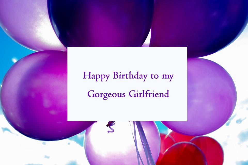 Happy Birthday Wishes for Gf