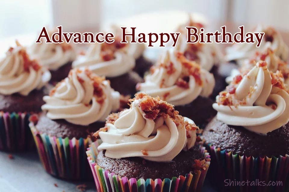 Advance Happy Birthday Status