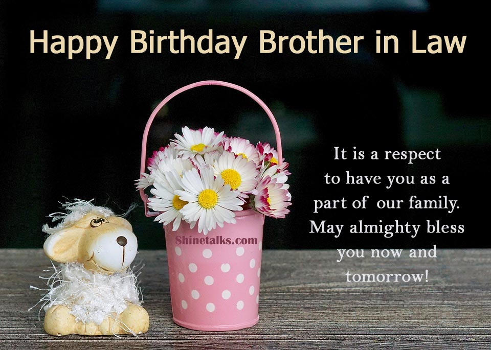 Happy Birthday images for Brother in Law