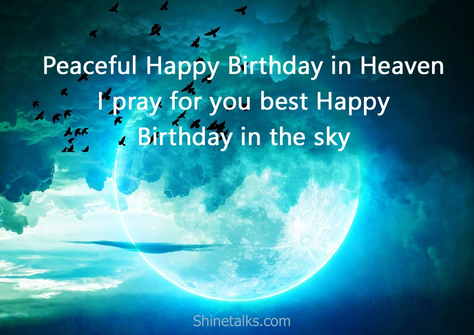 heavenly birthday messages