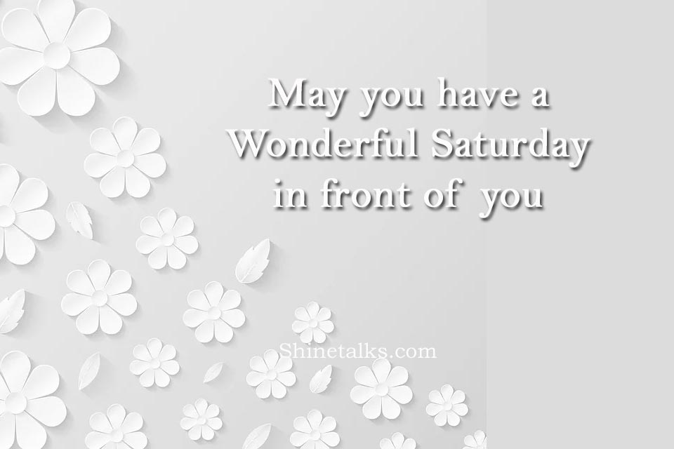 happy Saturday wishes messages