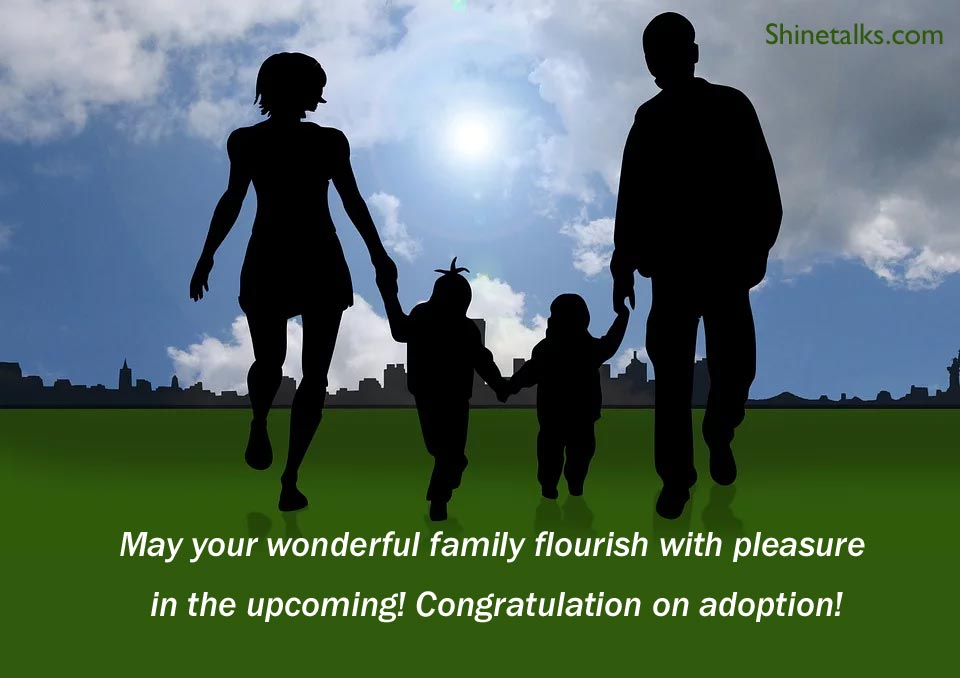 adoption good wishes