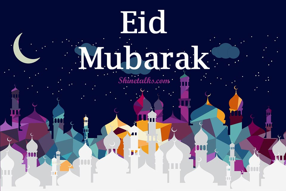 Happy Eid Mubarak Greetings 2020
