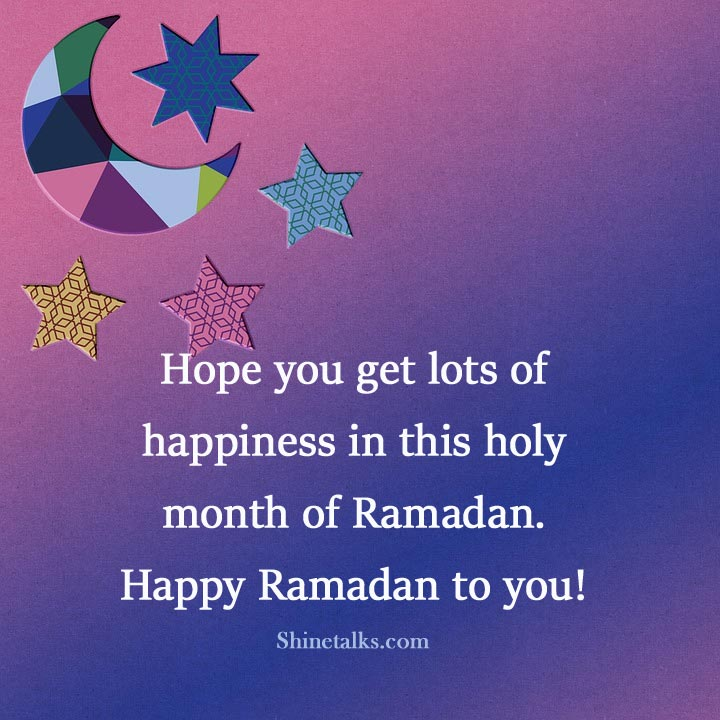 Happy Ramadan messages for friends