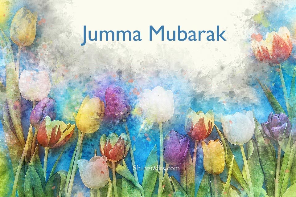 Amazing Jumma Mubarak photos