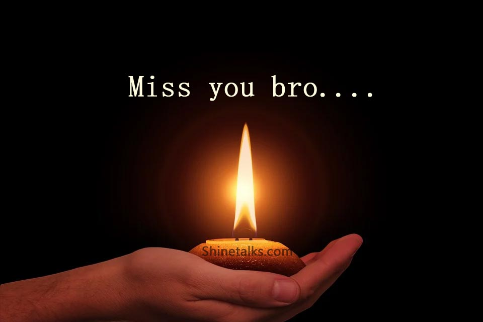 Death Anniversary Messages for Brother with Images