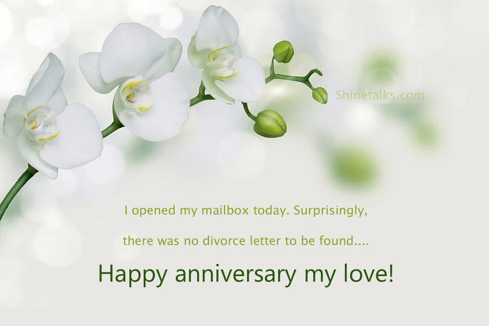 Funny Anniversary Wishes and Messages for wife