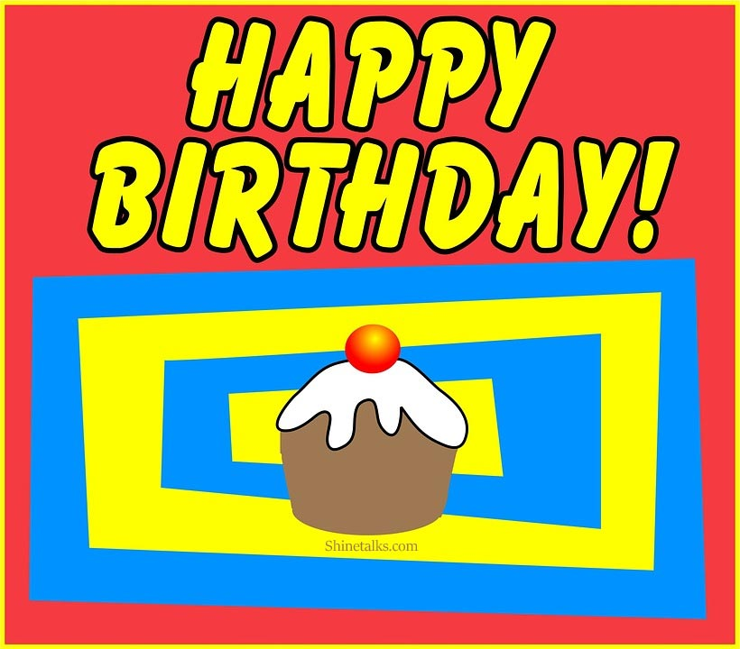 Happy birthday cupcake wishes with images