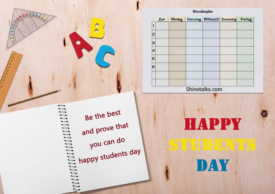 happy students day quotes