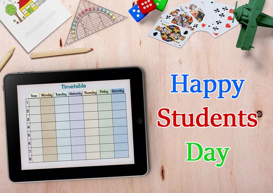 students day wishes