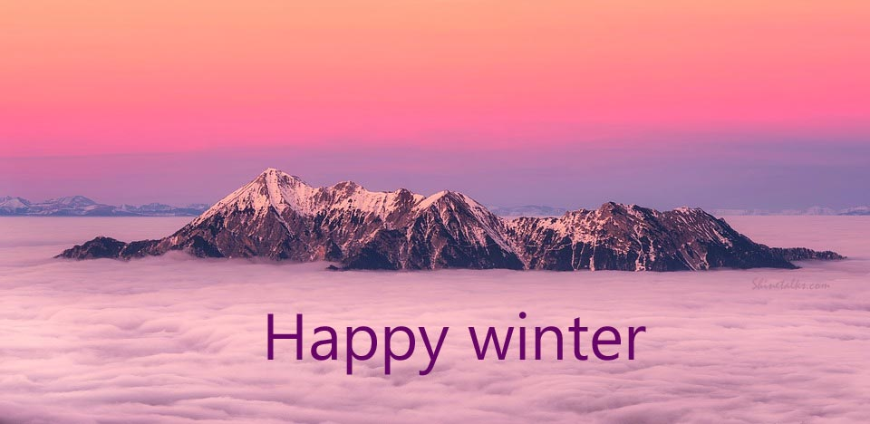 happy winter quotes with images
