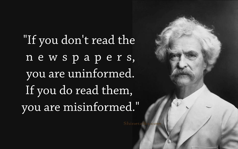 Quotes about Newspaper