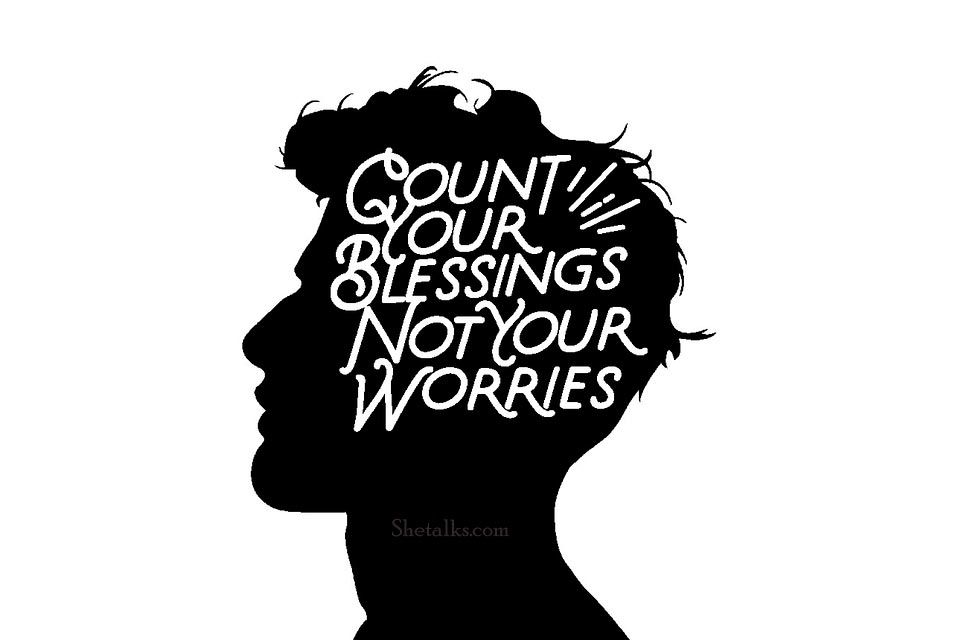 count your blessings not your problems quotes