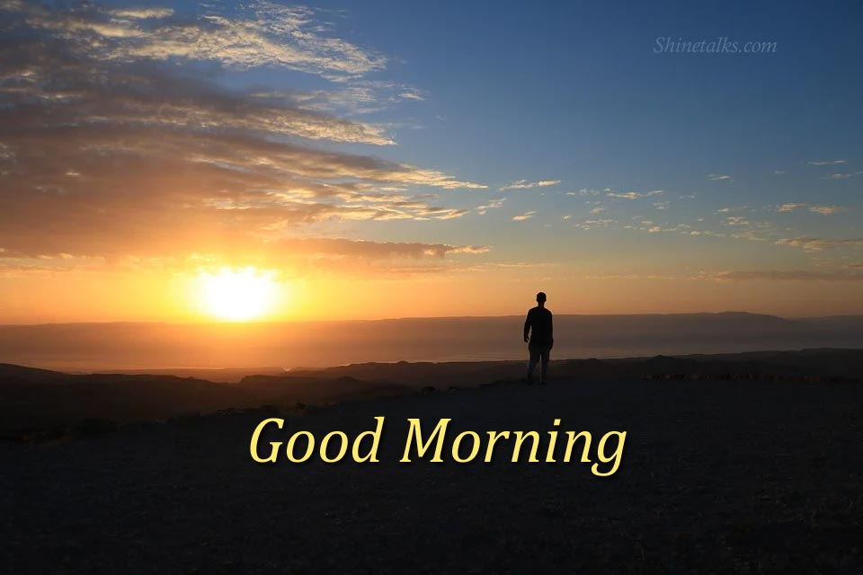 sunny good morning image